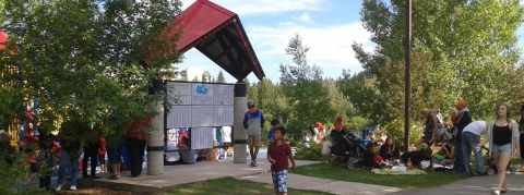 TCT pavilion Red Deer Bower Ponds