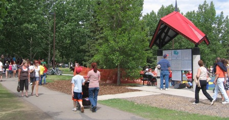 Trans Canada Trail pavilion Red Deer