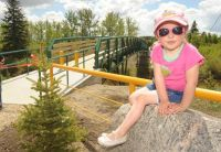 Blindman River Bridge opening - Red Deer Advocate